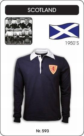Schottland Retro Trikot Langarm