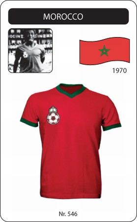 Marokko - Morocco - 1970 - Trikot