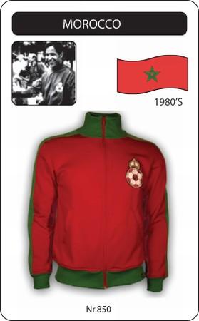 marokko jacke fussball trikot retro fu balltrikot in. Black Bedroom Furniture Sets. Home Design Ideas