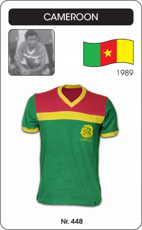 Kamerun Retro Trikot