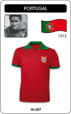 Portugal Retro Trikot 1972