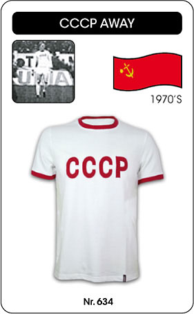 UdSSR - CCCP trikot