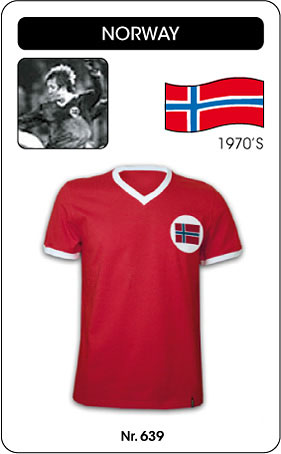 Norwegen - Norway - Trikot