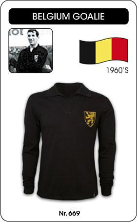 Belgien Retro Torwarttrikot