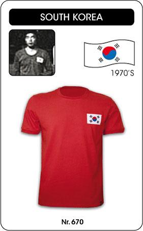 Südkorea Retro Trikot