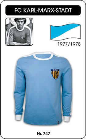 FC Karl Marx Stadt - 1977/1978 - Retro Trikot