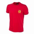 Spanien Retro Trikot Rot