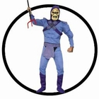 7 x SKELETOR KOSTÜM - DELUXE (MASTERS OF THE UNIVERSE)