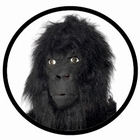 Gorilla Maske - Affenmaske