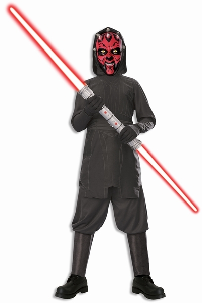 masken und shopping kost me darth maul kinder kost m box mit doppel. Black Bedroom Furniture Sets. Home Design Ideas