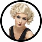 20er Jahre Per�cke blond