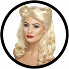 40er Jahre Pin Up Per�cke blond