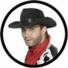 4 x COWBOY HUT - REVOLVERHELDEN HUT