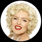 Marilyn Monroe Perücke - Locken Blond