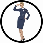 Air Force Pilotin Kostüm