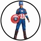 Captain America Avengers 2 Deluxe Kinder Kostüm - Marvel