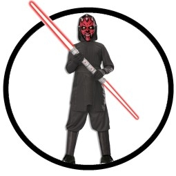 Darth Maul Kinderkost�m - Star Wars - Klicken f�r gr�ssere Ansicht