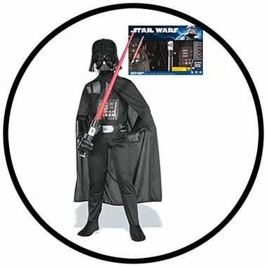 Darth Vader Kinder Kostüm - Boxset - Klicken für grössere Ansicht