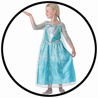 Elsa Eiskönigin Premium Kinder Kostüm - Disney - Klicken für grössere Ansicht