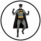 Ganzkörperanzug Batman - 2nd Skin