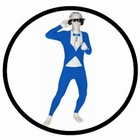 Morphsuit - Smoking Blau - Ganzkörperanzug