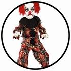 Grusel Clown Kostüm - Kinder