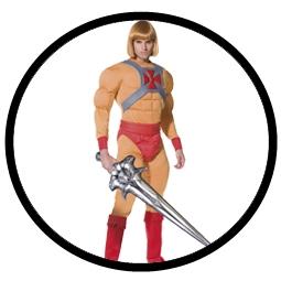 He-Man Kostüm - Deluxe (Masters of the Universe) - Klicken für grössere Ansicht