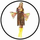 Hippie Kostüm Damen - 1960s Groovy Lady