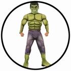 Hulk Avengers 2 Deluxe Kinder Kostüm - Marvel