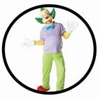 Krusty der Clown Kost�m Erwachsene - The Simpsons