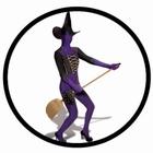 Morphsuit - Hexe violett - Ganzkörperanzug