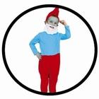 Papa Schlumpf Kostüm - Kinder