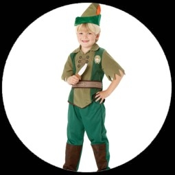 kostme von k 39 n 39 k peter pan kinder kostm costumes. Black Bedroom Furniture Sets. Home Design Ideas