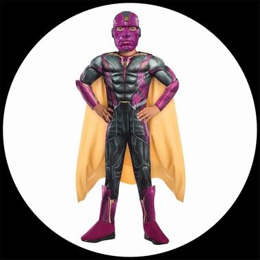 kost me von k 39 n 39 k vision avengers 2 deluxe kinder kost m marvel costumes verkleiden. Black Bedroom Furniture Sets. Home Design Ideas