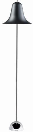 Verner Panton Stehlampe - Pantop - Schwarz