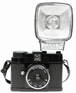 Lomography Diana Mini Flash Kamera - Schwarz - Petite Noire