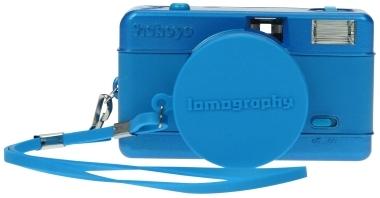 Fisheye Blau Kamera