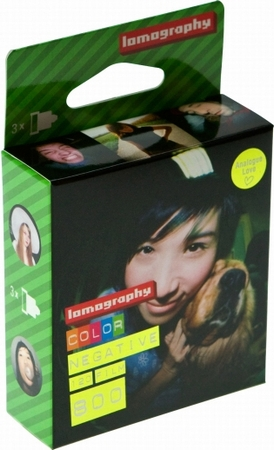800/ 120 Color 3-pack Lomographie Film