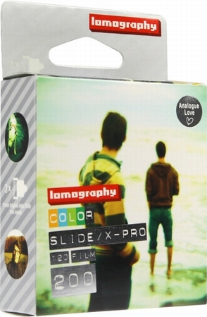 Slide X-Pro 200/ 120 Color 3-pack  Lomographie Film