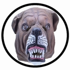 Bulldogge Maske Erwachsene