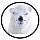 Eisbär Maske Erwachsene