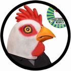 Hühner Maske