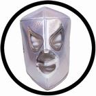 Lucha Libre Maske - El Santo white