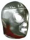 Lucha Libre Maske - El Santo silver