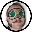 Steampunk Schlafmaske