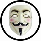V wie Vendetta Maske - Anonymous - Guy Fawkes