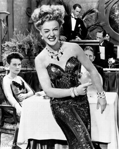 Betty Hutton - Augenzwinker