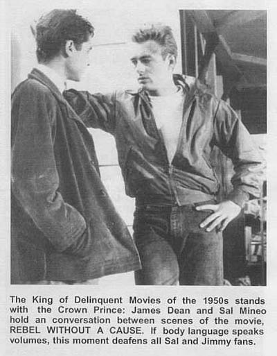 James Dean - with Sal Mineo