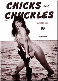 Bettie Page - Chicks and Chuckles