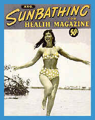 Bettie Page - Sunbathing